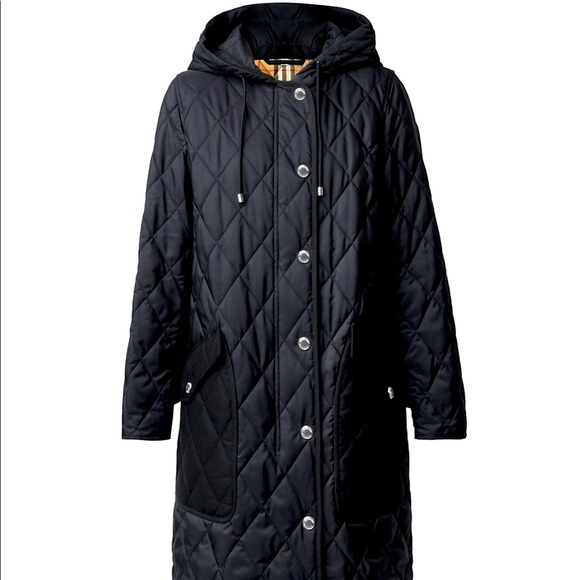 Roxby Quilted Nylon Canvas Coat